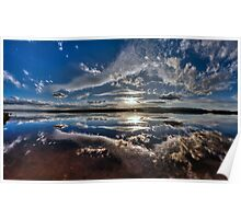 Moulting Lagoon-pano Poster