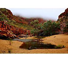 Foggy Ormiston Gorge - NT  Photographic Print