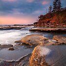 Shelly Beach QLD Sunrise 5 by Jennifer Bailey