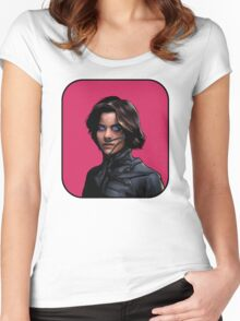 Ally In Dune Digital Duesday # 5 Women's Fitted Scoop T-Shirt