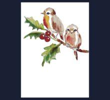Two Little Birds 3 One Piece - Short Sleeve