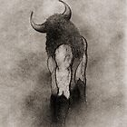 THE MINOTAUR by Leny .