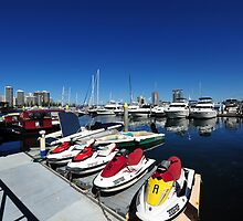 Southport Yacht Club. Queensland, Australia. by Ralph de Zilva