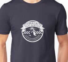 SHIRT! taxi and relative dimensions in space Unisex T-Shirt