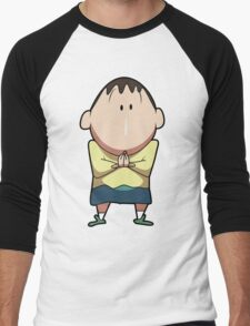 Boo from Shin-chan Men's Baseball ¾ T-Shirt