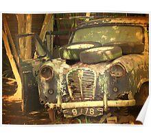 Junkyard Wreck Poster