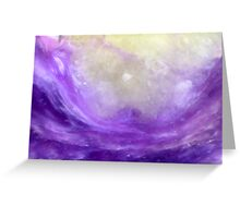 Parting The Purple Sea (Charoite) Greeting Card