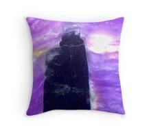 The Dark Tower (Charoite) Throw Pillow