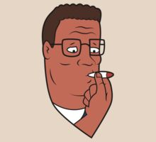 Hank Hill Smoking Weed by killrart
