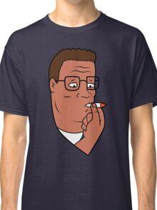 Hank Hill Smoking Weed Classic T-Shirt
