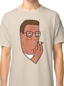 Hank Hill Smoking Weed Classic T-Shirt