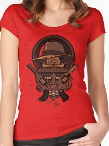 Fortune & Glory Women's Fitted Scoop T-Shirt