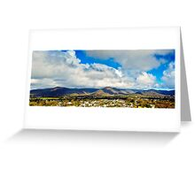 Tablelands View  Greeting Card