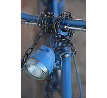 la bicyclette bleue Photographic Print