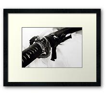 Dragon & Snake Framed Print