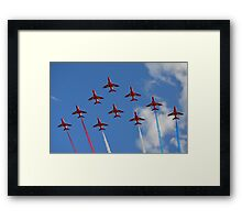 The Red Arrows 1/3 Framed Print