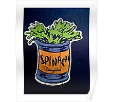 Spinach superfood!! Poster