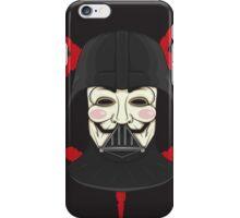 V for Vader iPhone Case/Skin