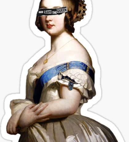The Grandmother of Europe Sticker