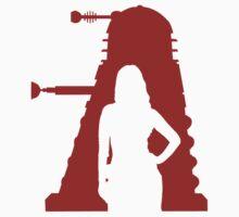 Asylum of the Dalek's T-shirt by dbowkercreative