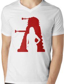 Asylum of the Dalek's T-shirt Mens V-Neck T-Shirt