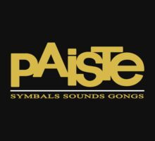 Paiste Logo Cymbals  by BlackWater
