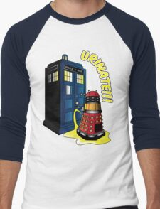 Disgraceful Dalek Men's Baseball ¾ T-Shirt