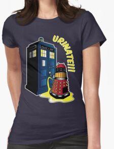 Disgraceful Dalek Womens Fitted T-Shirt