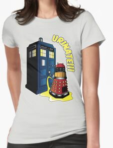 Disgraceful Dalek Womens Fitted T-Shirt
