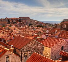 The Rooftops of Dubrovnik by Robyn Carter