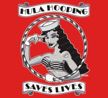 Hula Hooping Saves Lives! by Dominique O'Leary