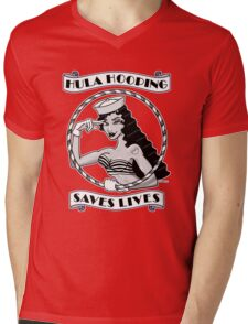 Hula Hooping Saves Lives! Mens V-Neck T-Shirt