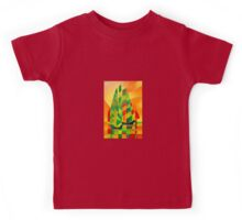 Chinese Junks, Sunset, Sails and Shadows Kids Tee