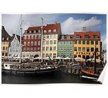 Nyhavn Architecture Poster