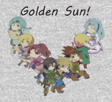 Chibi Golden Sun! by ThatsSoMoney