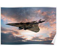 Vulcan Bomber Poster