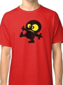 man cartoon fun funny swag boy Classic T-Shirt