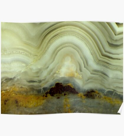 Enlightened One (Lace Agate) Poster
