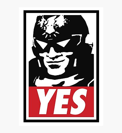 """YES!"" Photographic Print"