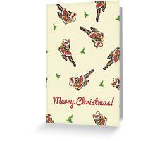 Christmas - Vintage Reindeer Greeting Card