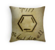 One Ring Throw Pillow