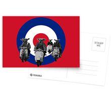 Funny MOD Postcards