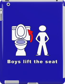 Boys Lift the Seat T-Shirt & More by Audrey Krüger