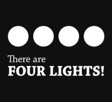 There are FOUR LIGHTS!   Unisex T-Shirt