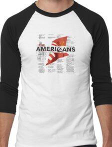 The Americans Men's Baseball ¾ T-Shirt