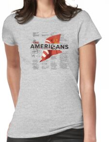 The Americans Womens Fitted T-Shirt