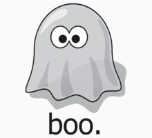 Simple Boo Ghost by shakeoutfitters