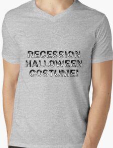 Recession Halloween Costume Mens V-Neck T-Shirt