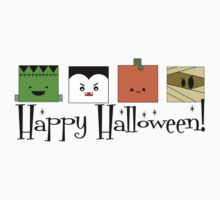 Happy Halloween Monsters by shakeoutfitters