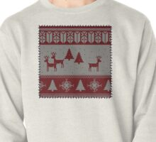 Ugly Christmas stitched sweater Pullover